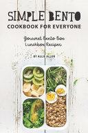 Simple Bento Cookbook for Everyone Book PDF