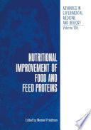 Nutritional Improvement Of Food And Feed Proteins