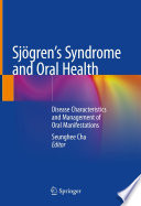 Sj  gren   s Syndrome and Oral Health Book
