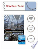 Fundamentals of Building Construction, Sixth Edition Binder Ready Version, Construction Exercises 6E Brv, with Interactive Resource Center Set