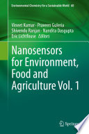 Nanosensors for Environment, Food and Agriculture Vol. 1
