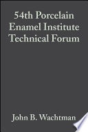 54th Porcelain Enamel Institute Technical Forum