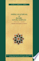American Journal of Islamic Social Sciences 29 3