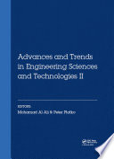 Advances and Trends in Engineering Sciences and Technologies II
