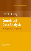 Correlated Data Analysis  Modeling  Analytics  and Applications