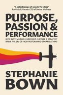 Purpose  Passion and Performance Book
