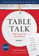 Table Talk Volume 1 - Devotions