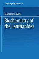 Biochemistry of the Lanthanides