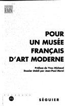 Pour un musée français d'art moderne