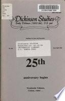 Dickinson Studies