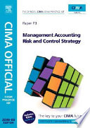 CIMA Official Exam Practice Kit Management Accounting Risk and Control Strategy
