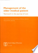 Management of the Older Medical Patient Book