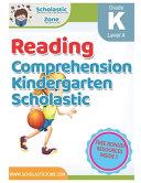 Reading Comprehension Kindergarten Scholastic Book