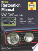 VW Golf and Jetta Restoration Manual