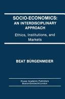 Socio-Economics: An Interdisciplinary Approach