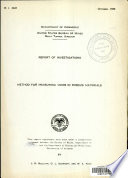 Method for Measuring Voids in Porous Materials Book