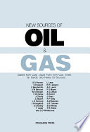 New Sources Of Oil And Gas Book PDF