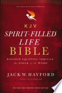KJV  Spirit Filled Life Bible  Third Edition  Ebook