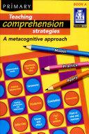 Teaching Comprehension Strategies  5 6 years