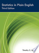 """Statistics in Plain English, Third Edition"" by Timothy C. Urdan"