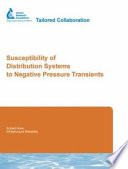 Susceptibility Of Distribution Systems To Negative Pressure Transients