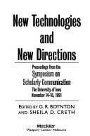 New Technologies And New Directions
