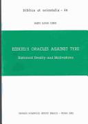 Ezekiel's Oracles Against Tyre