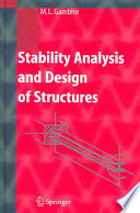 Stability Analysis And Design Of Structures Book PDF