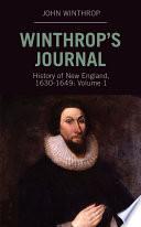 Winthrop's Journal