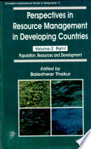 Perspectives in Resource Management in Developing Countries