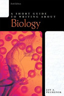 Short Guide to Writing about Biology  A  Valuepack Item Only