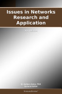 Issues in Networks Research and Application: 2012 Edition Pdf