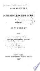 Miss Beecher S Domestic Receipt Book