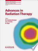 Advances in Radiation Therapy Book