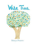Wise Trees: This Book is Filled with Colorful Hand Painted Trees.