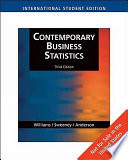 Contemporary Business Statistics