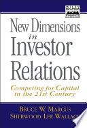 New Dimensions In Investor Relations