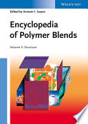Encyclopedia of Polymer Blends, Volume 3