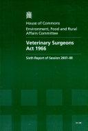 Veterinary Surgeons Act 1966
