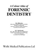 A Colour Atlas of Forensic Dentistry