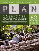 5 Year Monthly Planner 2020 2024