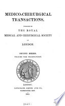 Medico chirurgical Transactions Book