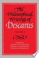 """The Philosophical Writings of Descartes: Volume 2"" by René Descartes, John Cottingham, Robert Stoothoff, Dugald Murdoch"