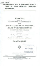 Congressional Field Hearing