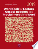 Workbook for Lectors  Gospel Readers  and Proclaimers of the Word   2019