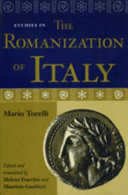 Studies in the Romanization of Italy