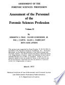 Assessment of the Forensic Sciences Profession