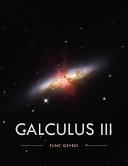 Calculus III