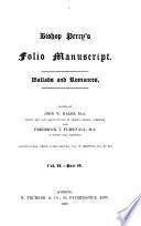 Bishop Percy s Folio Manuscript