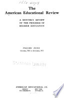 The American Educational Review